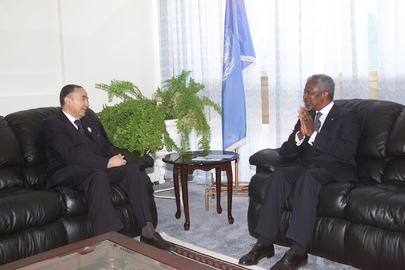 Secretary-General Visits Zambia