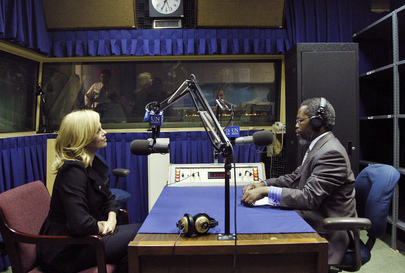 UN Radio Producer Interviews New Messenger of Peace