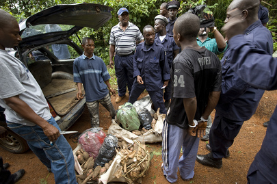 Liberian National Police Seize Drugs