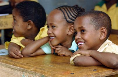 Primary School Classroom, Ethiopia