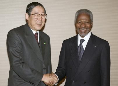 Secretary-General Visits Tokyo, Japan