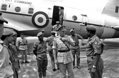 Commander of Royal Nigerian Army Visits The Congo (Leopoldville)