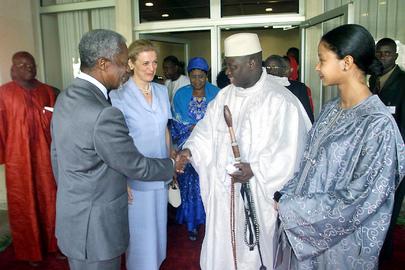 Secretary-General Visits Gambia