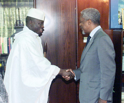Secretary-General Visits Gambia