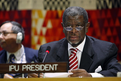 IPU President Participates in Effective Peacekeeping Hearing