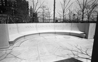 Monument in Memory of Mrs. Eleanor Roosevelt