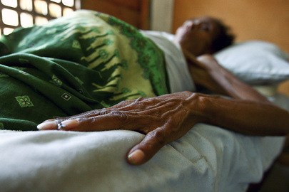 World AIDS Day: HIV/AIDS Patient in Hospital