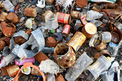 Garbage Dumped in Dili, Timor-Leste