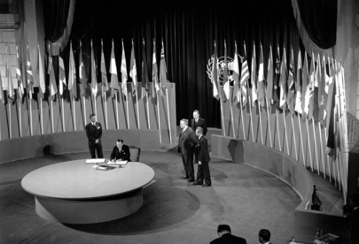 The San Francisco Conference, 25 April - 26 June 1945: Australia Signs the United Nations Charter