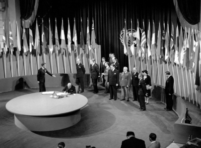 The San Francisco Conference: Brazil Signs the United Nations Charter