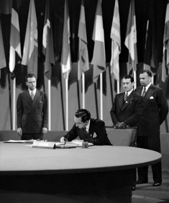 The San Francisco Conference: Ecuador Signs the United Nations Charter