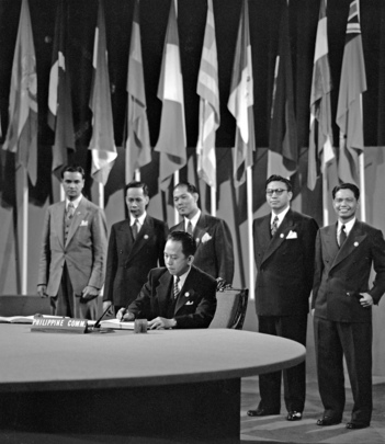 The San Francisco Conference, 25 April - 26 June 1945: The Philippine Commonwealth Signs the United Nations Charter