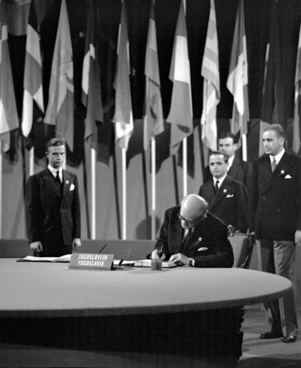 The San Francisco Conference: Yugoslavia Signs the United Nations Charter