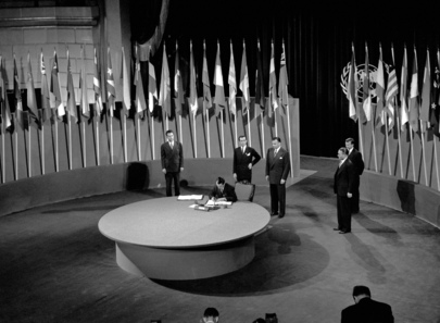 The San Francisco Conference: Ecuador Signs United Nations Charter