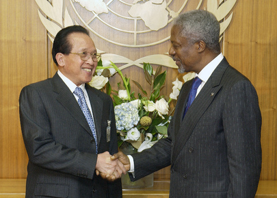 Secretary-General Meets with Foreign Minister of Cambodia