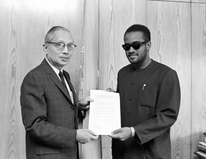 New Permanent Representative of United Republic of Tanzania Presents Credentials to Secretary-General