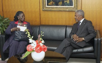 Secretary-General Meets with Chairperson of Committee on Elimination of Discrimination Against Women
