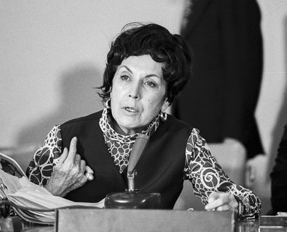 Widow of Former President Salvador Allende of Chile Speaks at Cuban Press Briefing at UN Headquarters