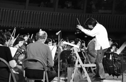 Seiji Ozawa Conducts Two Japanese Orchestras at UN Day Concert