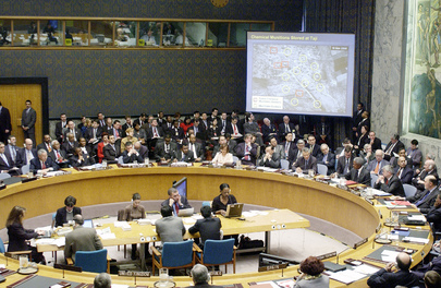 Security Council Hears U.S. Briefing on Evidence of Iraq's Arms Programme