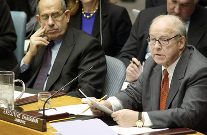 Security Council Meets on Iraq