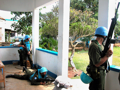 Violence in the Democratic Republic of the Congo: MONUC Headquarters Attacked