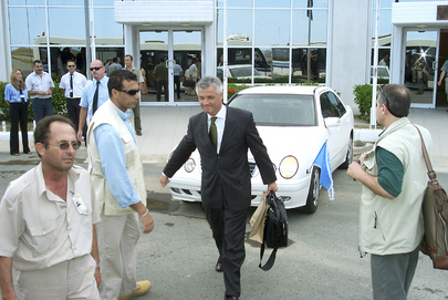 SRSG for IRAQ Visits UNFICYP