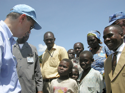 Under-Secretary-General for Peacekeeping Operations Visits Bunia, DRC