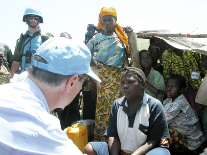 Under-Secretary-General for Peacekeeping Operations Visits Bunia, Democratic Republic of the Congo