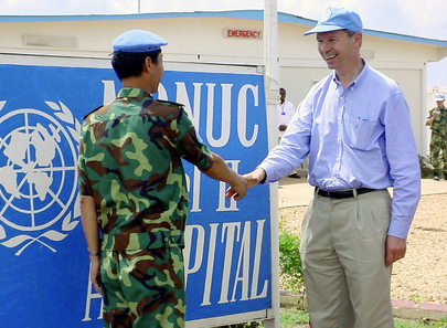 Under-Secretary-General for Peacekeeping Operations Visits Kindu, DRC