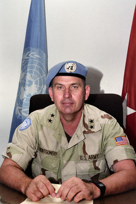 Portrait of Deputy Force Commander of UNOSOM II