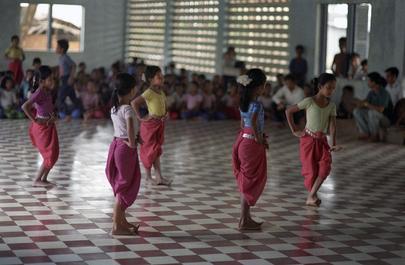 Dance School in Cambodia