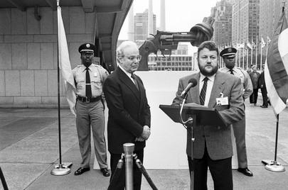 United Nations Receives Gift of Sculpture from Luxembourg