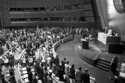 Special Committee Against Apartheid Honors Nelson Mandela