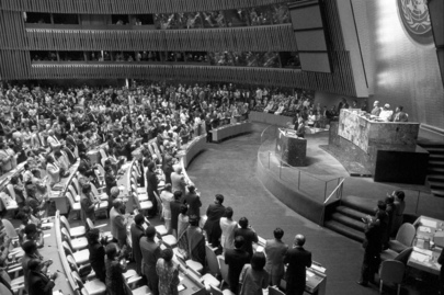 Nelson Mandela Addresses Special Committee Against Apartheid