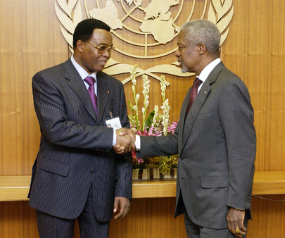 Secretary-General Meets Foreign Minister of Togo
