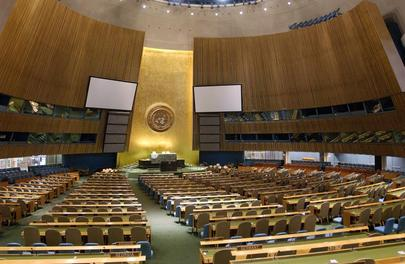 A GENERAL VIEW OF THE GENERAL ASSEMBLY HALL