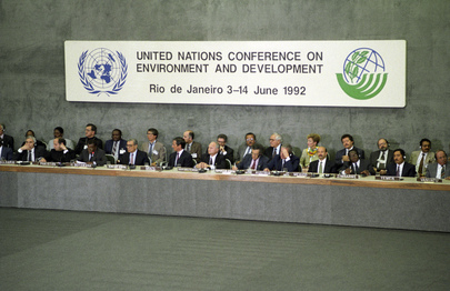 United Nations Conference on Environment and Development (UNCED), 3-14 June 1992