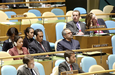 Delegation of Timor-Leste Attends Fifty-Eighth Session of General Assembly