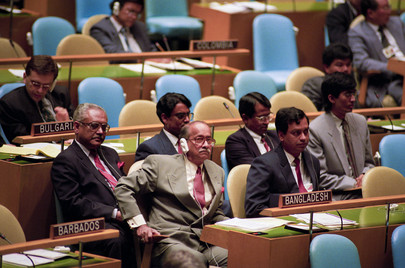 Delegation of Bangladesh Attends the 47th Session of the General Assembly