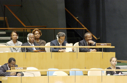 Delegation of Haiti Attends Fifty-Eighth Session of General Assembly