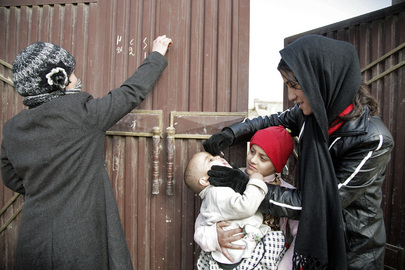 Polio Vaccination Campaign in Afghanistan