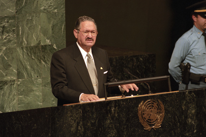 President of Honduras Addresses 52nd Session of the General Assembly