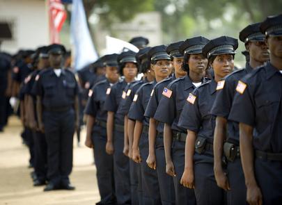 United Nations Photo: Liberian National Police Graduation Ceremony