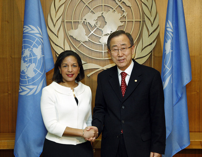 Secretary-General Meets New U.S. Permanent Representative