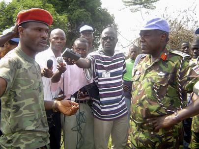 UNMIL Peacekeepers Deploy to Kley Junction