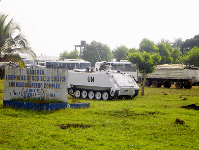 UNMIL Peacekeepers Deploy to Kley Junction