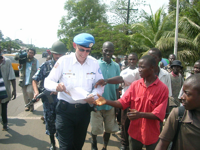 UNMIL Civilian Police Launches Operation Restore Calm with Liberian National Police