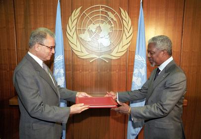 New Permanent Representative of Tunisia Presents Credentials
