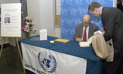 "Book Signing: ""Disarming Iraq"" by Hans Blix"